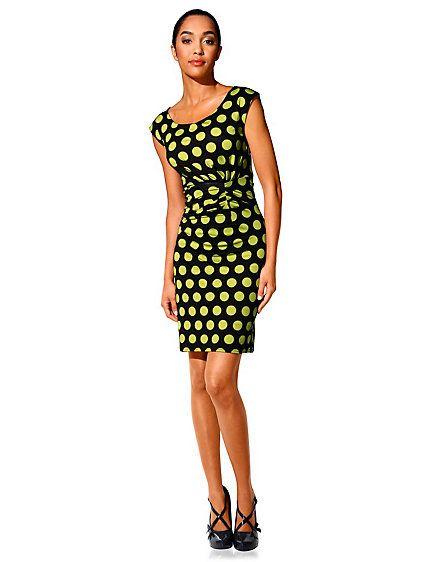 Control printed dress
