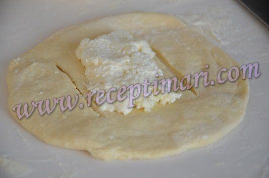 дрожжевое тесто с творогом рецепт