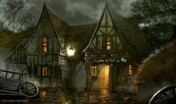 Prancing Pony tavern by daRoz on deviantART