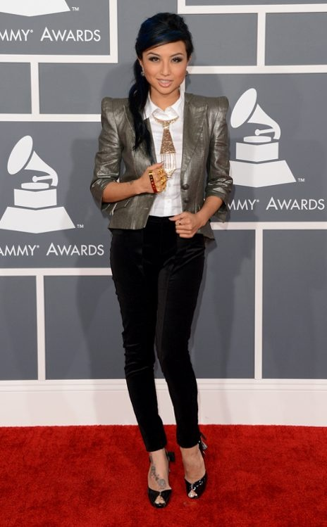 Jeannie Mai << That jacket! Perfection.