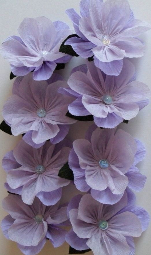 Crepe paper flowers from http://www.etsy.com/shop/EfflorenceDesigns