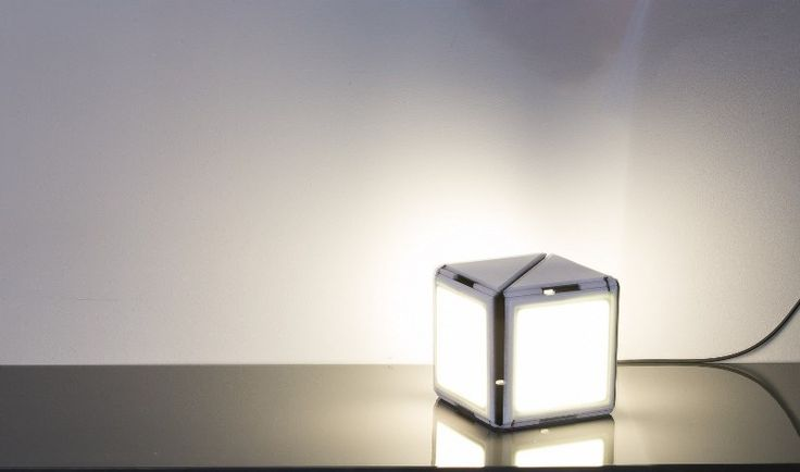 Dynamicube - table lamp | for more informations check:  http://www.gtad.it/GTAD_ita/DYNAMICUBE_II.html