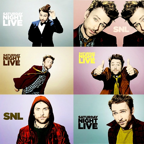 One of the funny guys, Charlie Day.