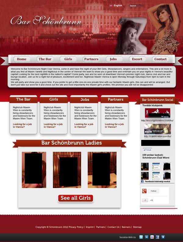 Club webdesign