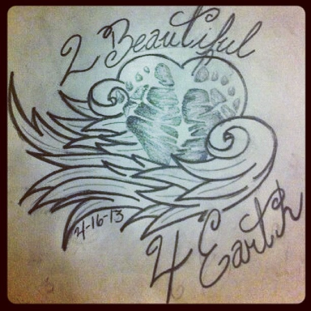 Tattoo Quotes For Unborn Baby: Since I Wouldn't Have Footprints Of My Baby I Would Put