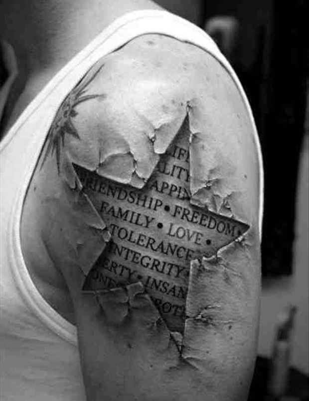 Amazing Tattoos – 32 Pics-luv the lace back piece..that is the kind of fill I want on my sleeve piece!