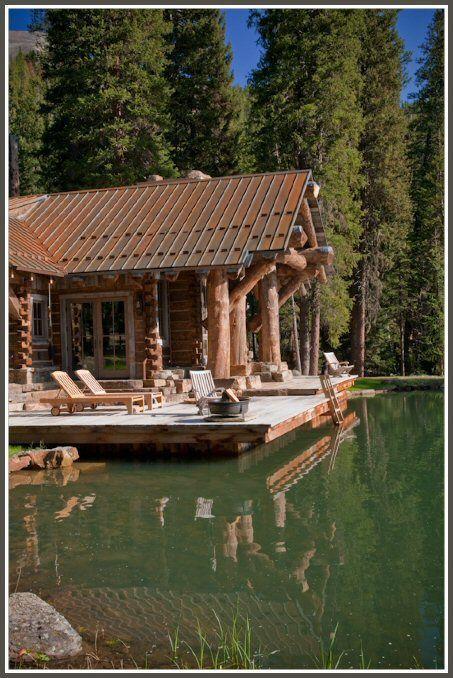 228 best Log Cabin Love images on Pinterest Log homes Log cabins