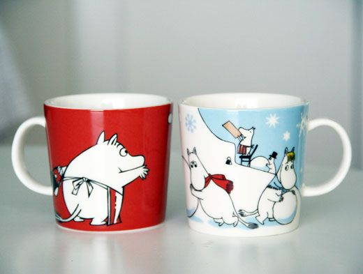 Moomin mugs for the kids