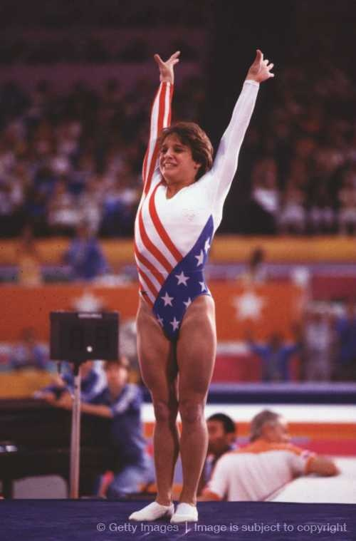Who didn't want to be Mary Lou Retton back in the day?