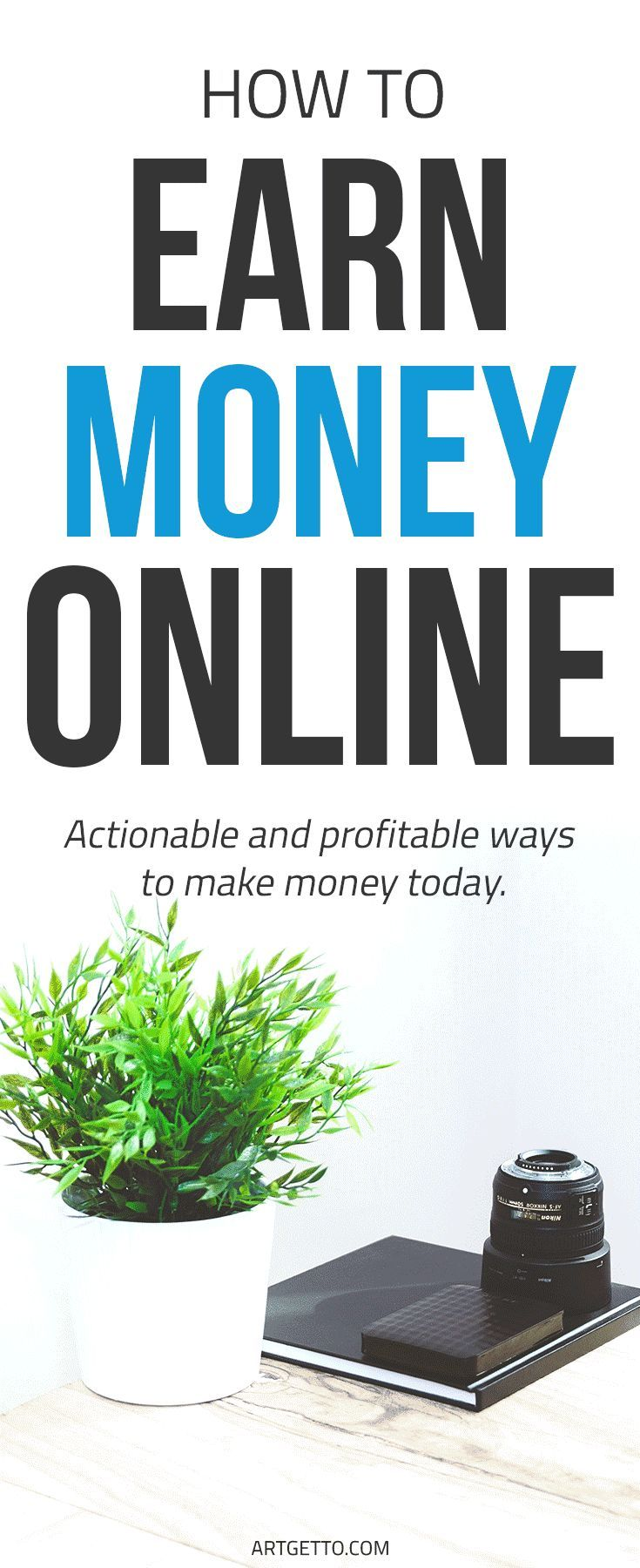 How to earn money online | Actionable and profitable ways to make money today Earn money online | Make Money Online | Make Money from Home #Blog #Blogging #DIY