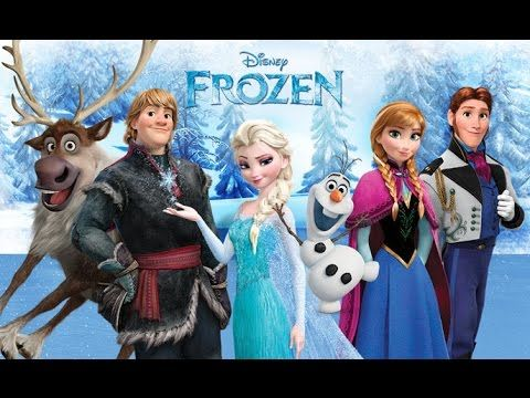 Frozen ♥ Animation for children ♥ Frozen Full Movie 2014 ♥ Disney Frozen...