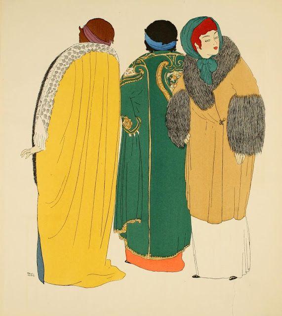 Les Robes de Paul Poiret by Paul Iribe