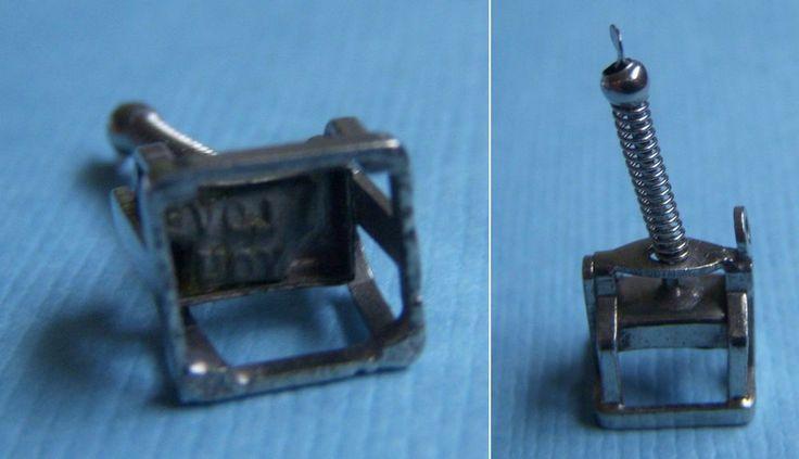 Vintage movable office stamp I Love You sterling charm  | eBay