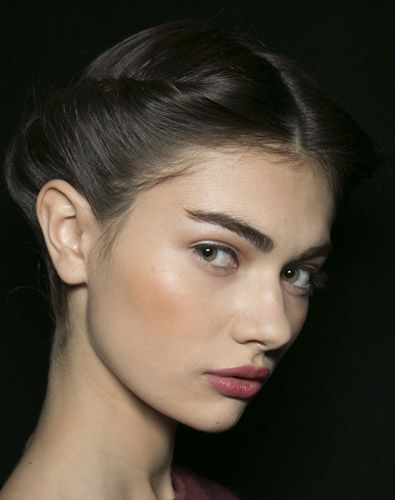 bold brows - very audrey