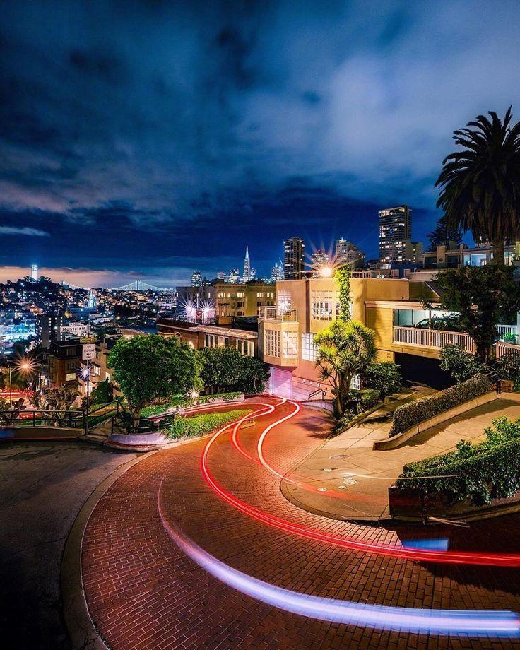 Lombard St by @maynorchrome #sanfrancisco #sf #bayarea #alwayssf #goldengatebridge #goldengate #alcatraz #california