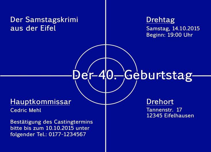 Einladung Geburtstag 40 Geburtstag Einladung Geburstag