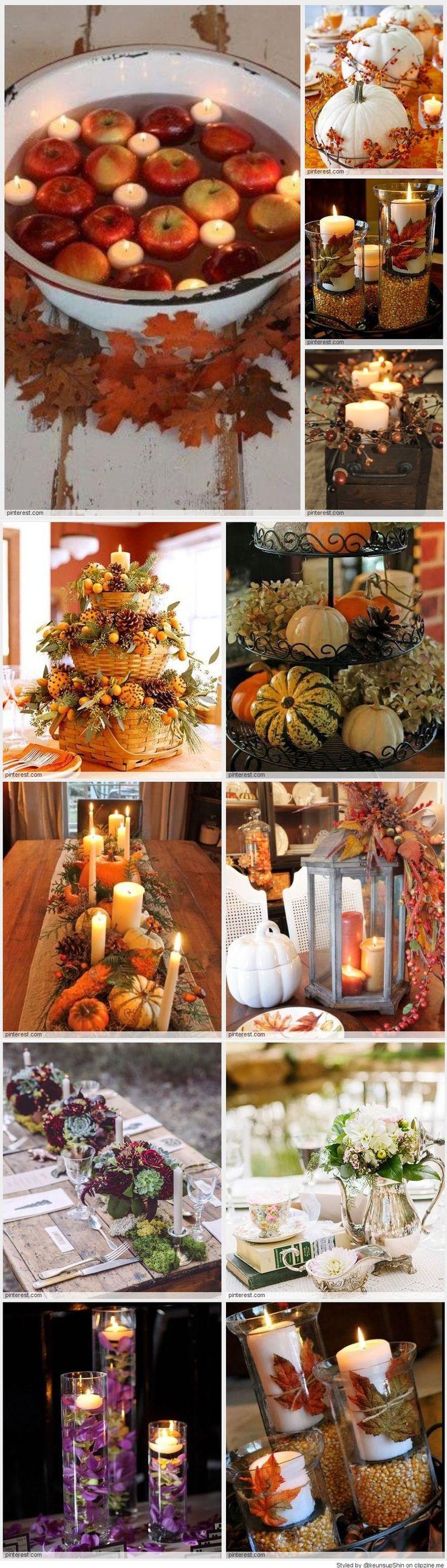 Fabulous Fall Centerpieces ★❤★ Trending • Fashion • DIY • Food • Decor • Lifestyle • Beauty • Pinspiration ✨ @Concierge101.com
