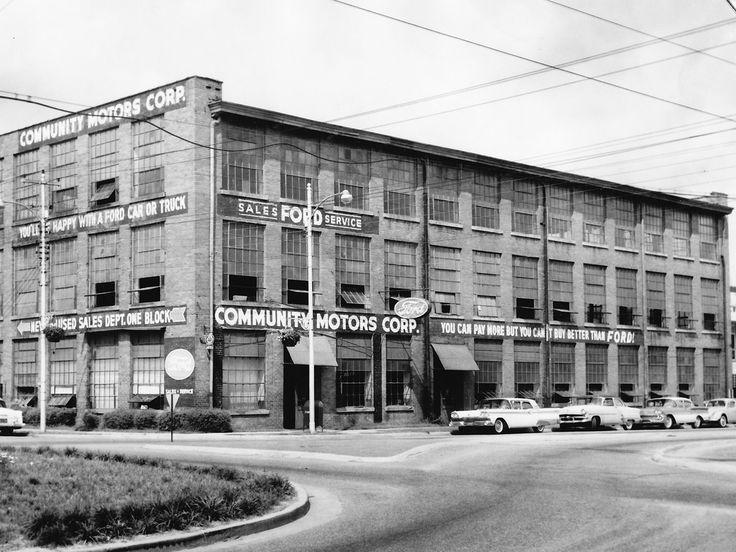 1959 Community Motors Corp. Ford Dealership, Goldsboro