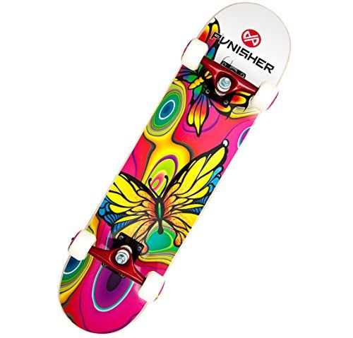 Punisher Skateboards Butterfly Jive Complete 31Inch Skateboard with Canadian Maple >>> Find out more about the great product at the image link.