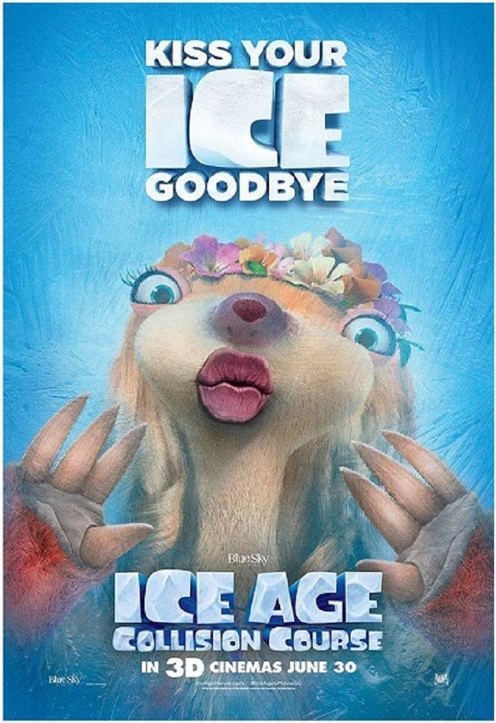 Ice Age Collision Course 2016 En 2019 Films Dessins