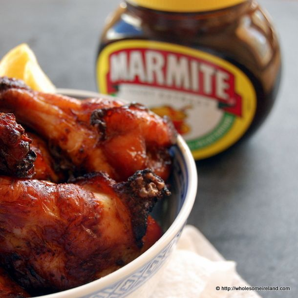 7 best marmite recipes i love marmite images on pinterest bbq marmite chicken wings wholesome ireland irish food parenting blog forumfinder Gallery