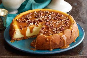 Praline Cheesecake recipe - This is amazing, I've actually made it before several times!!!
