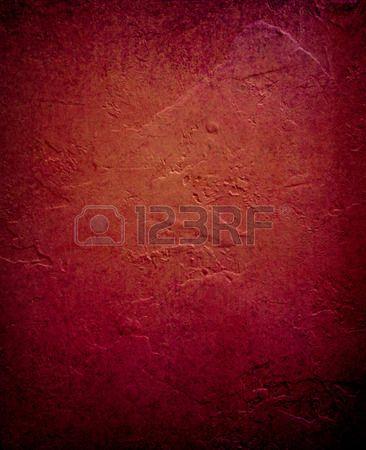 diep rood oranje achtergrond verontruste geschilderde muur elegante vintage achtergrond ontwerp ruwe Stockfoto