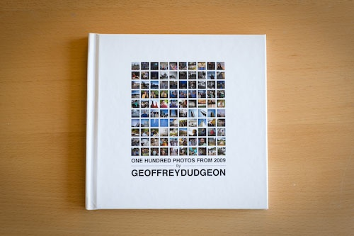 My talented cousin's first photo book - 100 photos from 2009.  Hopefully the first in a series