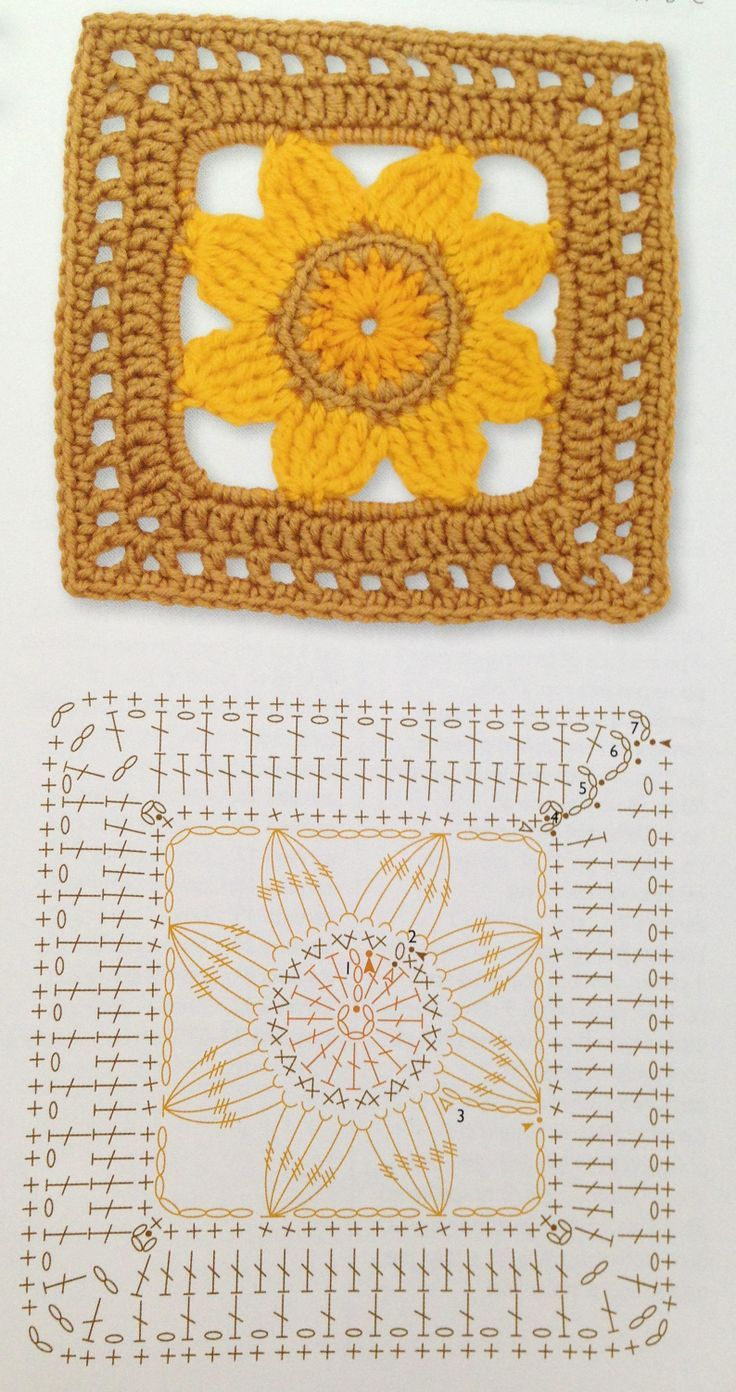 4336 Best Images On Pinterest Crochet Patterns Crocheting Tm Diagram Ideas And Tips Juxtapost Bloemen Chartcrochet Motif Patternsgranny