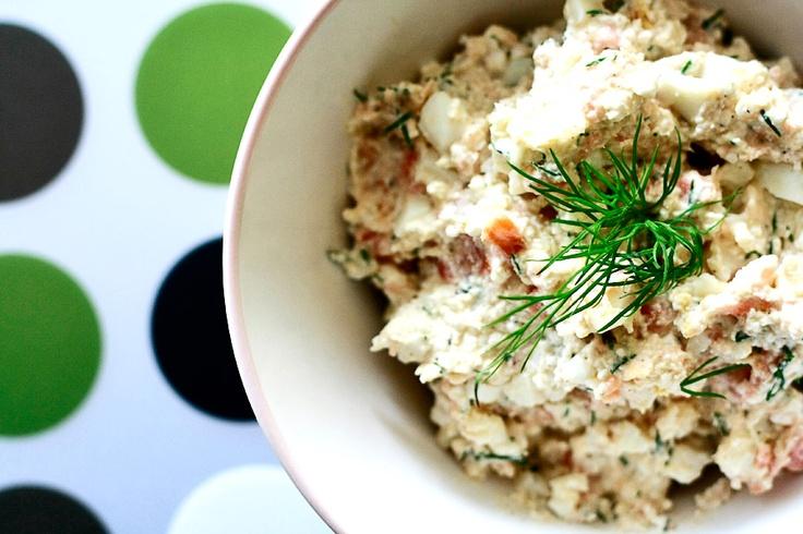 Pasta z łososia | Salmon cream