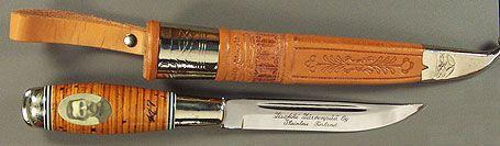 Iisakki 120 Years [J120Y] - $290.37 : Kellam Knives Worldwide, Inc. - Finnish Puukko Knives and Products