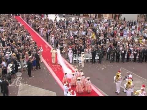 Juillet 2011, Le Mariage Princier: Instants d'Histoire, de grâce et d'émotion - YouTube