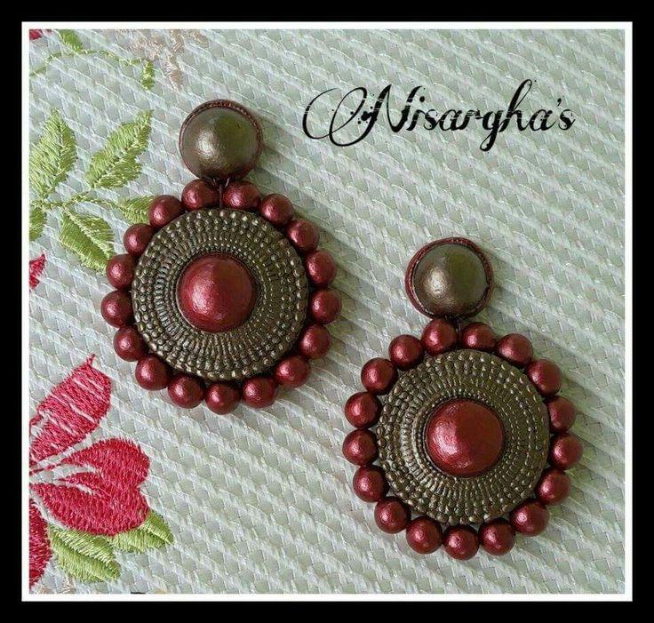 Nisargha terracotta jewelry