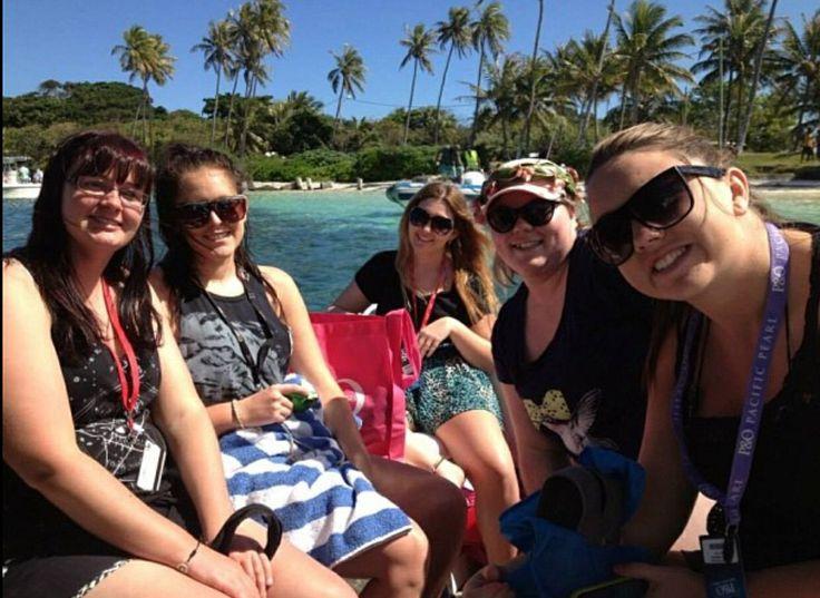 P&O Cruise 2013 Isle of Pines Vanuatu