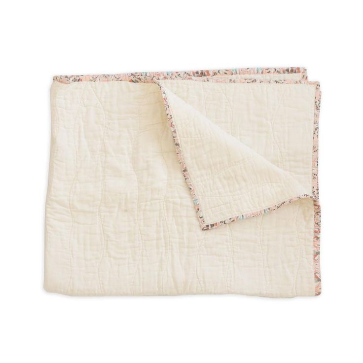 Deluxe Cream Muslin Toddler Blanket