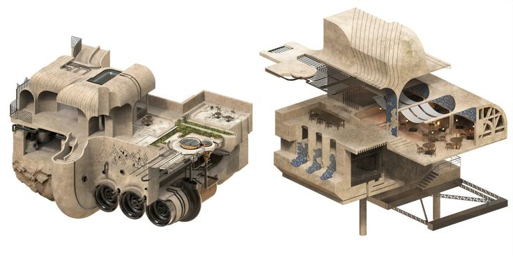 Studio Prize: Real Fictions Cairo | Architect Magazine | Awards, Education, Community Projects, Cultural Projects, Design, 2017 Studio Prize, University of Pennsylvania, University of Pennsylvania School of Design