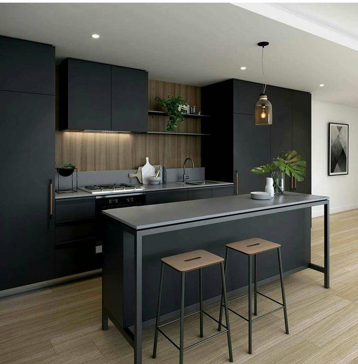 43 best kitchen images on Pinterest Kitchen modern, Kitchen white - cout extension maison 20m2