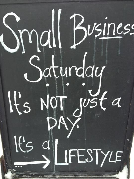 Cypress House: Small Business Saturday: It's not just a day, it's a lifestyle