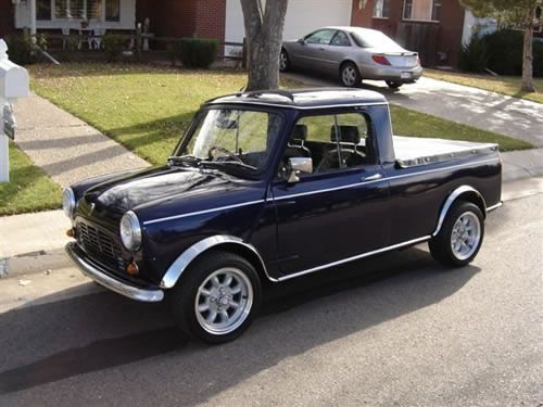1979 Austin Mini Cooper Pick-Up Truck