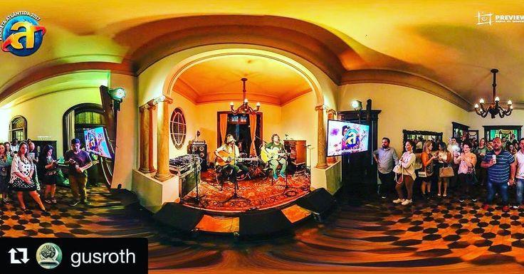 #Repost @gusroth  http://preview.is/2fyGg6E #Panorama360  @AgenciaPreview no lançamento do @PlanetaAtlantida 2017 #sóquemvaisabe com @ArmandinhoeBanda primeira atração confirmada na 22ª edição do maior #festival de música do sul do #Brasil que acontece desde 1996 na praia de #Atlântida RS - uma realização de @Grupo_RBS e #DCSet Promoções. #virtualtour #photosphere #immersive #equirectangular #TourVirtual  Foto:  #GustavoRoth @gusroth / #agenciapreview #agenciapreview