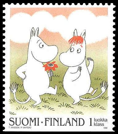 moomin stamps!