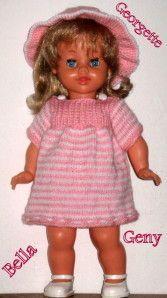 Pour faire plaisir à mes amies,je publie les explications de la petite robe en laine que porte ma petite Georgette de Bella,que vous pouvez voir ici: Petite robe en laine pour Georgette de bella cette robe convient à une poupée de 40-45 cm ....si vous...