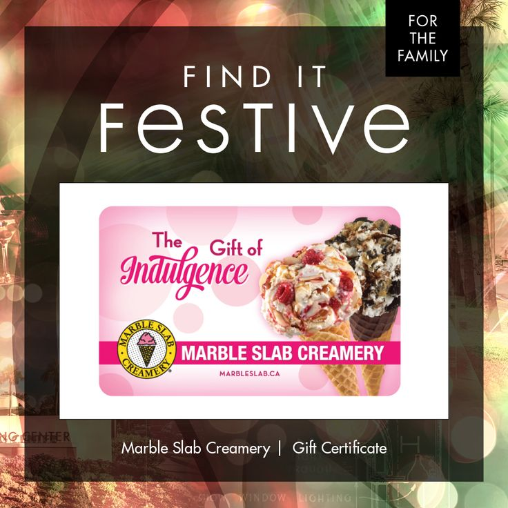 """2 scoops, make it 3 - I'm not driving!"" Channel your inner Kevin and stuff those stockings with gift cards to @marbleslab. #homealone #RiverOaksShoppingCenter #ROSCGiftGuide  www.riveroaksshoppingcenter.com/shopping/store/marble-slab-creamery"