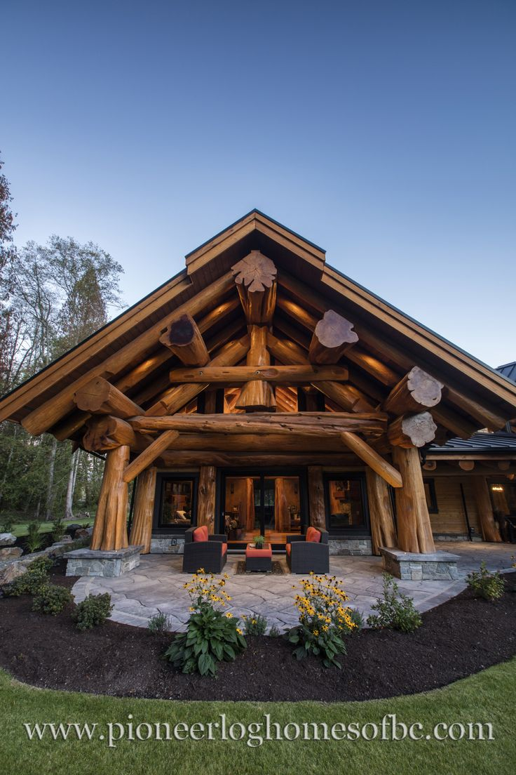 prosperity ridge home pioneer log homes of bc loghome