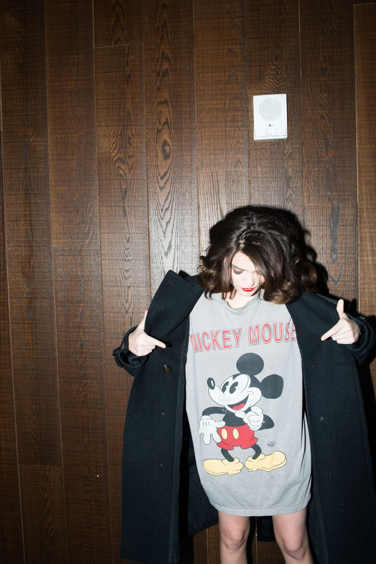 Because she's got the whole anti-ugly Christmas sweater thing down. http://www.thecoveteur.com/sky-ferreira-style/: