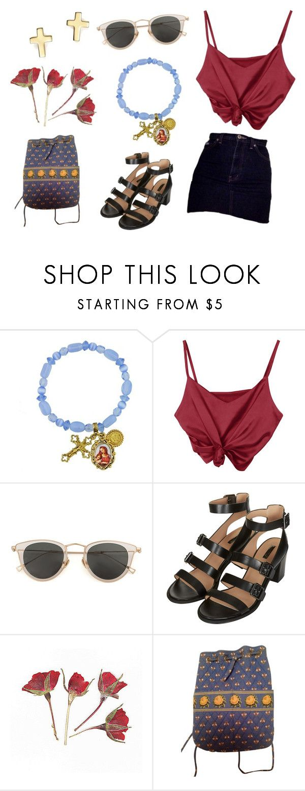 """mexico"" by acre8iveone on Polyvore featuring 1928, Issey Miyake, Topshop, Vera Bradley and Bloomingdale's"
