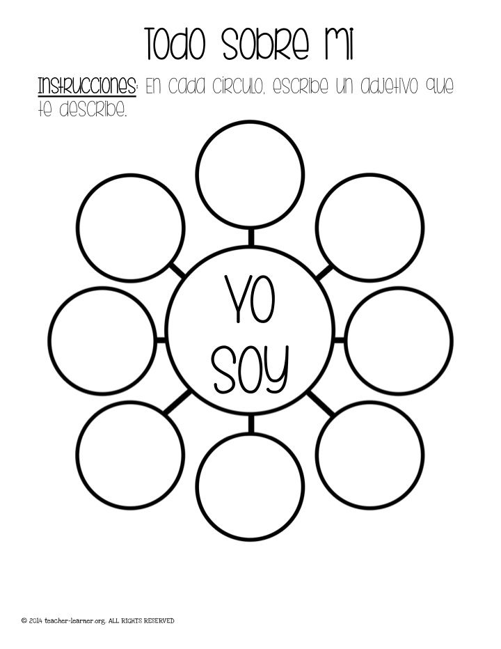 147 best Adjectives in Spanish images on Pinterest