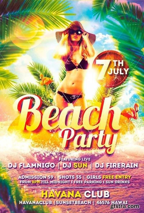 Best Design  Party Posters Images On   Party Flyer