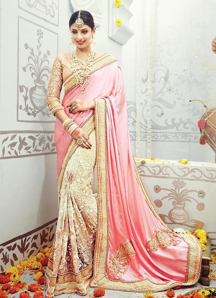 Indian Wedding Designer Bollywood Pakistani Partywear Saree Ethnic Dress Sari #TanishiFashion #DesignerSaree