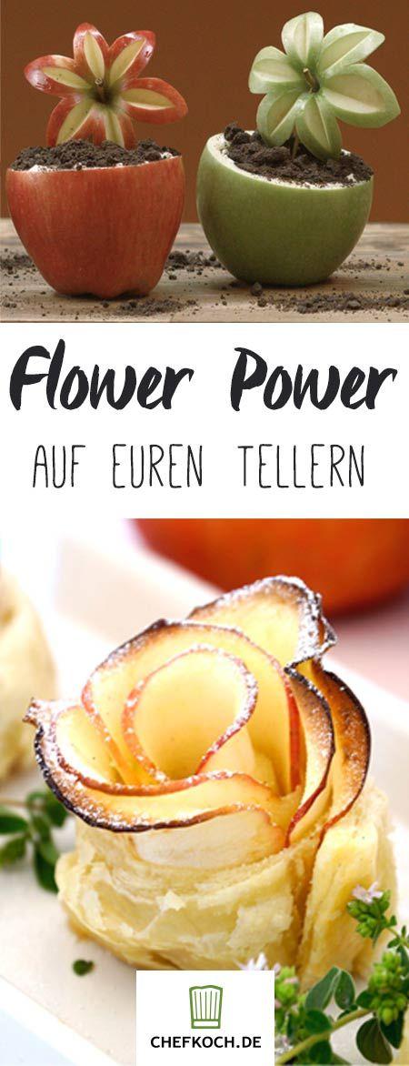 Flower Power auf euren Tellern – 7 blumige Rezepte